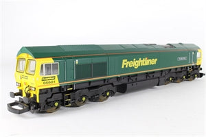 L204917 Lima Class 66 66601 'The Hope Valley' in Freightliner Green