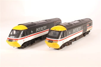 205080L/205082-HD Lima Class 43 HST in Intercity Swallow 2-car pack 43051 & 43072