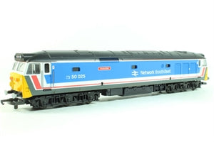 L205177A6 or L205177B Lima Class 50 50025 Invincible in Network SouthEast Original livery