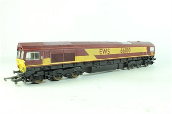 L205197 Lima Class 66 66100 in EWS livery limited edition Certificate # 0385 of 1200