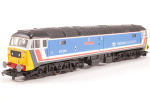 L205220A Lima Class 47 47581 'Great Eastern' in original Network South East blue