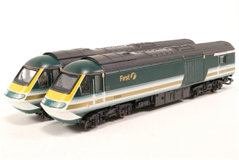 L205253 Lima Collection Class 43 HST in First Great Western Fag Packet livery 43024 & 43170