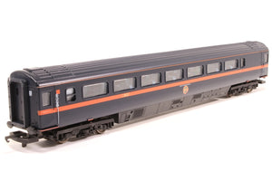 L305400Lima Mk 3 TS Trailer Second 44058 in GNER Blue - Coach A