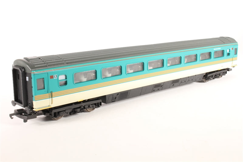 L305412 Lima Mk 3 TS Trailer Second 42228 in original Midland Mainline - Coach B