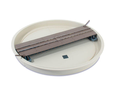 LK-555 PECO 0n30/0-16.5 Narrow Gauge Turntable Kit.