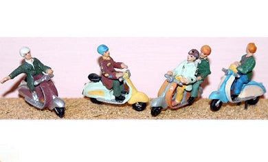 F164 Langley 4 Assorted Scooters and Riders