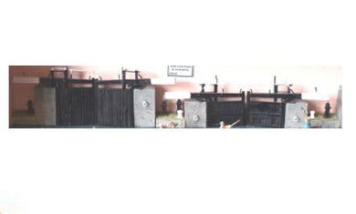 LM-F6 Canal- wide lock gates & accessories