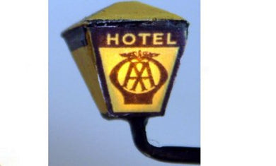 F221 AA or RAC Illuminated Hotel sign - working kit