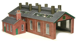 P0213 METCALFE Double Track Engine Shed
