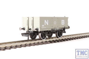 MW4001 Oxford 4 Plank Wagon N.B.R. Grey