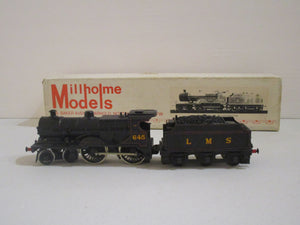 Millhome Models LMS 4-4-0 4P locomotive