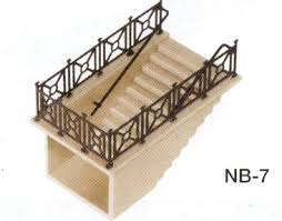 NB-7 Peco N Gauge Subway Staircase