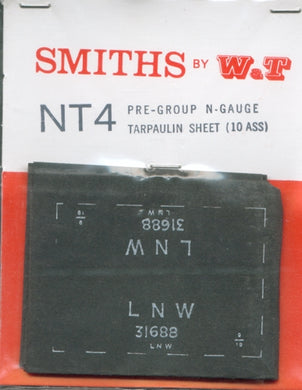 NT4 Smiths (W&T) GE Tarpaulin sheets
