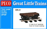 OR-21 PECO 0-16.5 2 Ton Flat Wagon