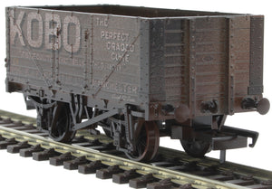 76MW7021W 7 Plank Mineral Wagon - Kobo No.15 (Weathered)