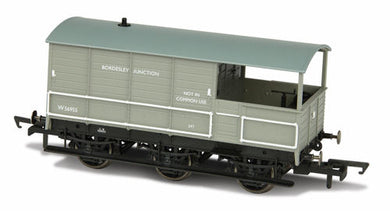 76TOA003 Toad Brake Van - BR 6 Wheel Plated Bordesley Junction
