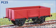PC25 LNER 5 Plank Open Wagon - now includes transfers