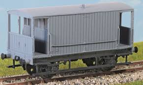 PC58 LMS 20T Goods Brake Van Dia 1659
