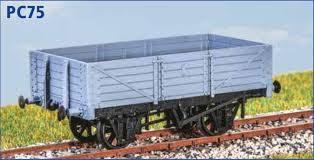 PC75 GWR RCH 5 Plank Mineral Wagon Kit
