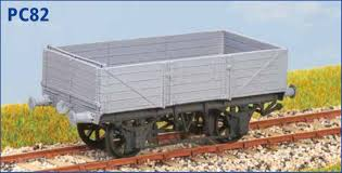 PC82 GWR 12T China Clay Wagon Kit Dia 013