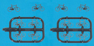 5189 Bicycles (12) (N Gauge)