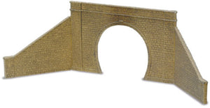 LK-31 Peco 00 Gauge 1 Tunnel Mouth and 2 walls (Stone type)