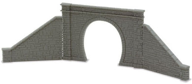 NB-31 Peco N Gauge Tunnel Mouths for single track and 4 retaining walls