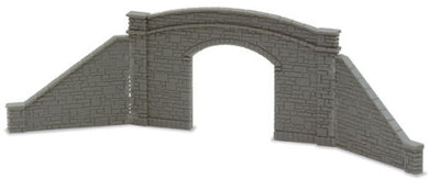 NB-33  Peco N Gauge Bridge sides for single track and 4 retaining walls