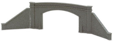 NB-34 Peco N Gauge Bridge Sides for double track and 4 retaining walls