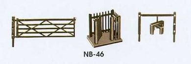 NB-46 Peco N Gauge Gates and stiles