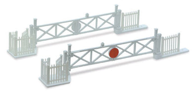 NB-50 Peco N Gauge Level crossing gates with wicket gates and fencing