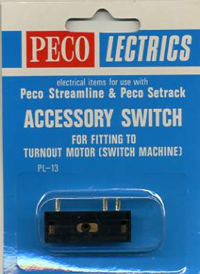 PL-13 Peco accessory switch