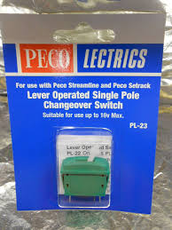 PL-23 Lever operatedS/P Changeover On/On Switch