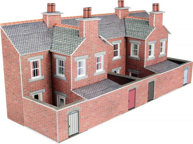 PN176 Red Brick Terraced Backs