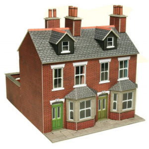 PO261 Red Brick Terraced Houses