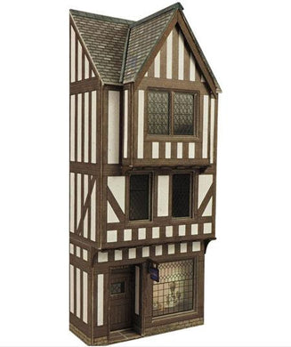PO421 METCALFE Low Relief Half Timbered Shop Front