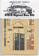 26W7 GWR Signal Box (Port Madoc Caernarvonshire) with accessories kit