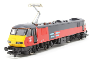 R2067 Hornby Class 90 90018 in RES livery