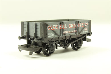 R131 Hornby Clee Hill Granite Of Ludlow 4 Plank Wagon 331