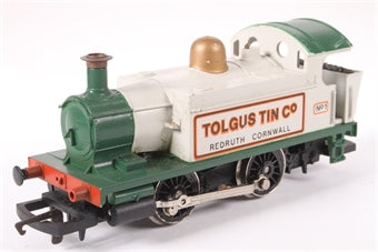 R153 Hornby Class 101 Holden 0-4-0T No.1 'Tolgus Tin Company' in Grey