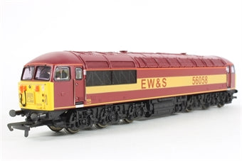 R2075 Hornby Class 56 Diesel Electric Locomotive 56058