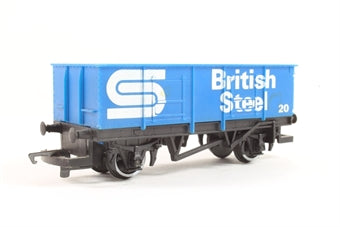 R211-steel-sd Hornby British Steel Open Wagon 20