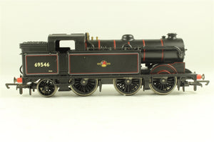 "R2178A Hornby	0-6-2 BR (ex LNER) class N2 ""69546"", lined black with late emblem"