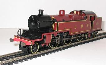 R2224 Hornby LMS Fowler 2-6-4T Class 4P Locomotive, lined LMS Maroon