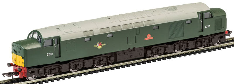 "R2386TTS HORNBY Cl 40 1Co-Co1  D232 ""Empress of Canada""   BR Green   Twin Track Sound. Railroad"