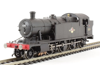R3126 HORNBY BR 2-8-0T Class 52XX, late crest, black livery, No. 5243