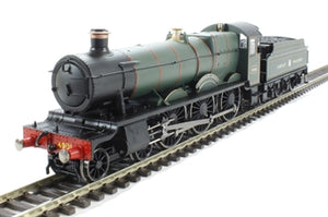 R3170 Hornby RailRoad, Class 49XX Adderley Hall in GWR green.  Railroad DCC Ready