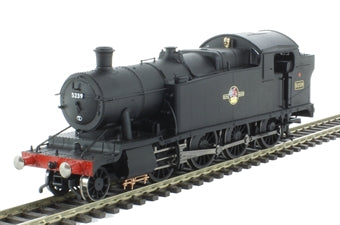 R3224 HORNBY BR 2-8-0T Class 52XX, late crest, black livery, No. 5239