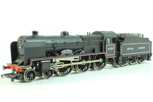 R324-LN Hornby Patriot Class Locomotive - Lady Godiva 45519 Black lined livery,