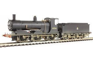 R3304 HORNBY BR 0-6-0T 700 Class, BR, Weathered
